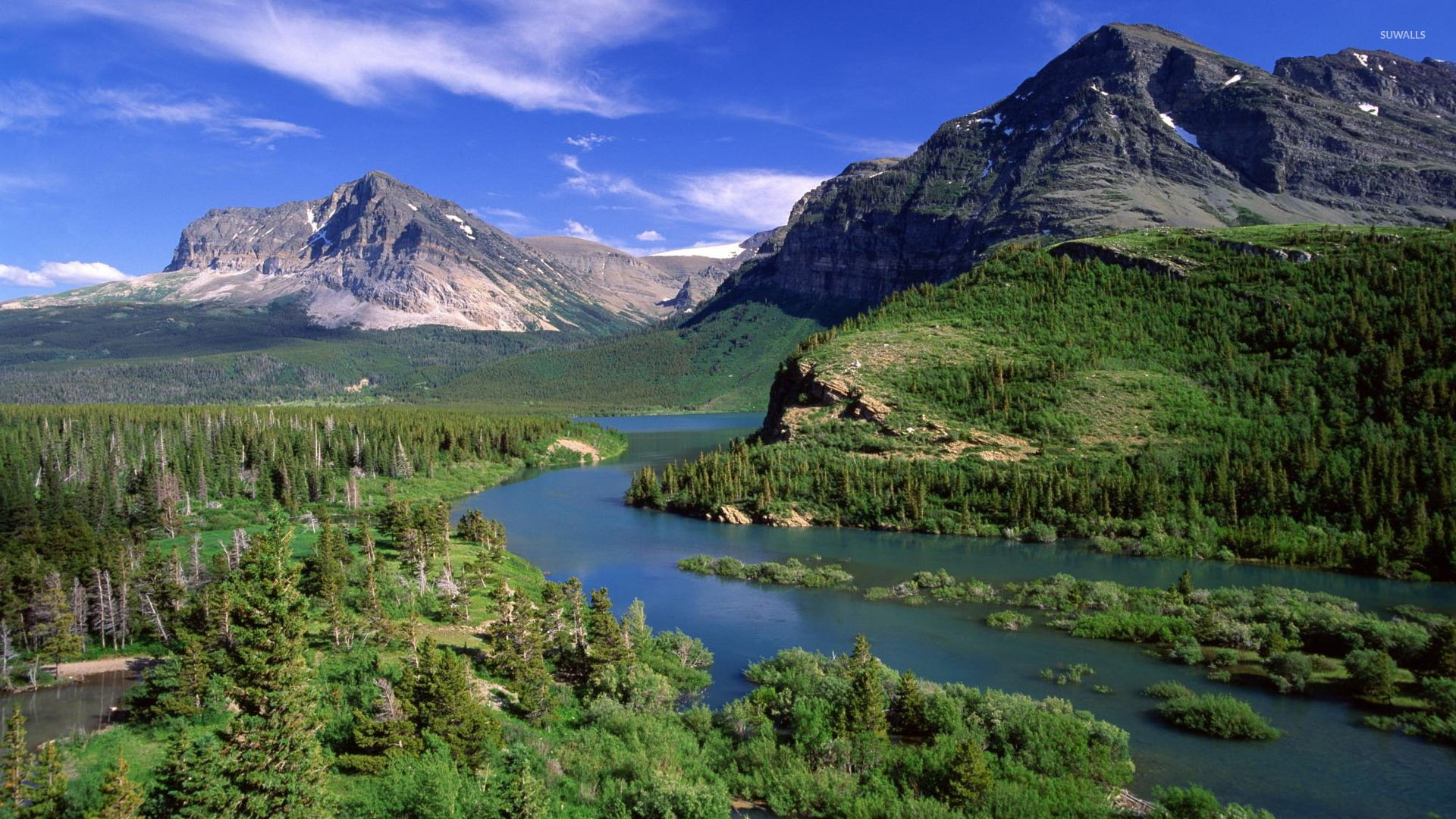 Free Download Glacier National Park Wallpaper Nature