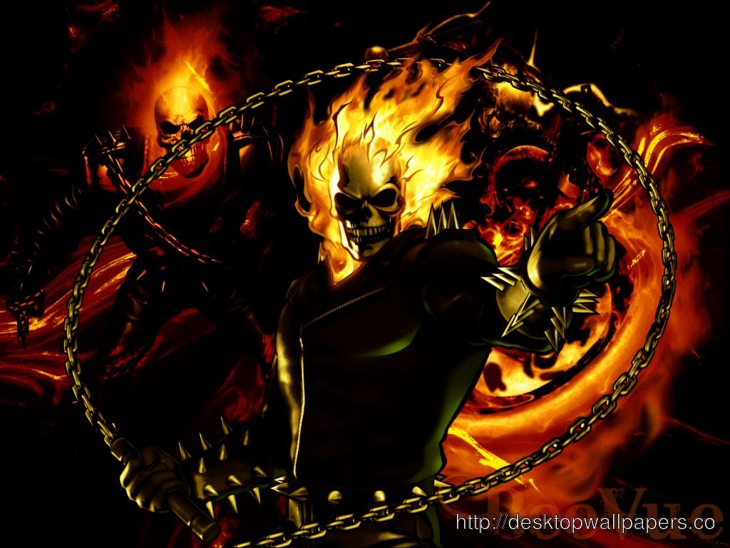 Ghost Rider WallpaperDesktop Wallpapers Download 1024x768