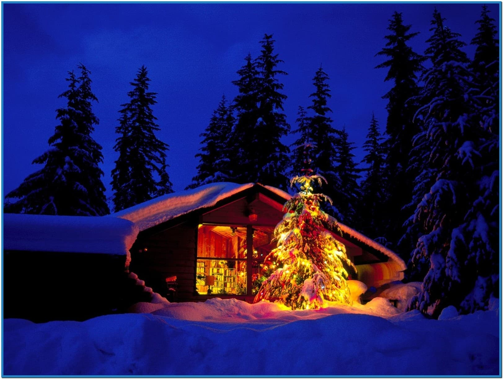 Christmas wallpapers and screensavers with music - Download free