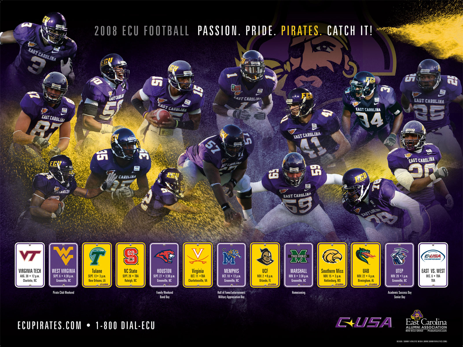 East Carolina Pirates Football tickets at TicketCity your trusted 1600x1200