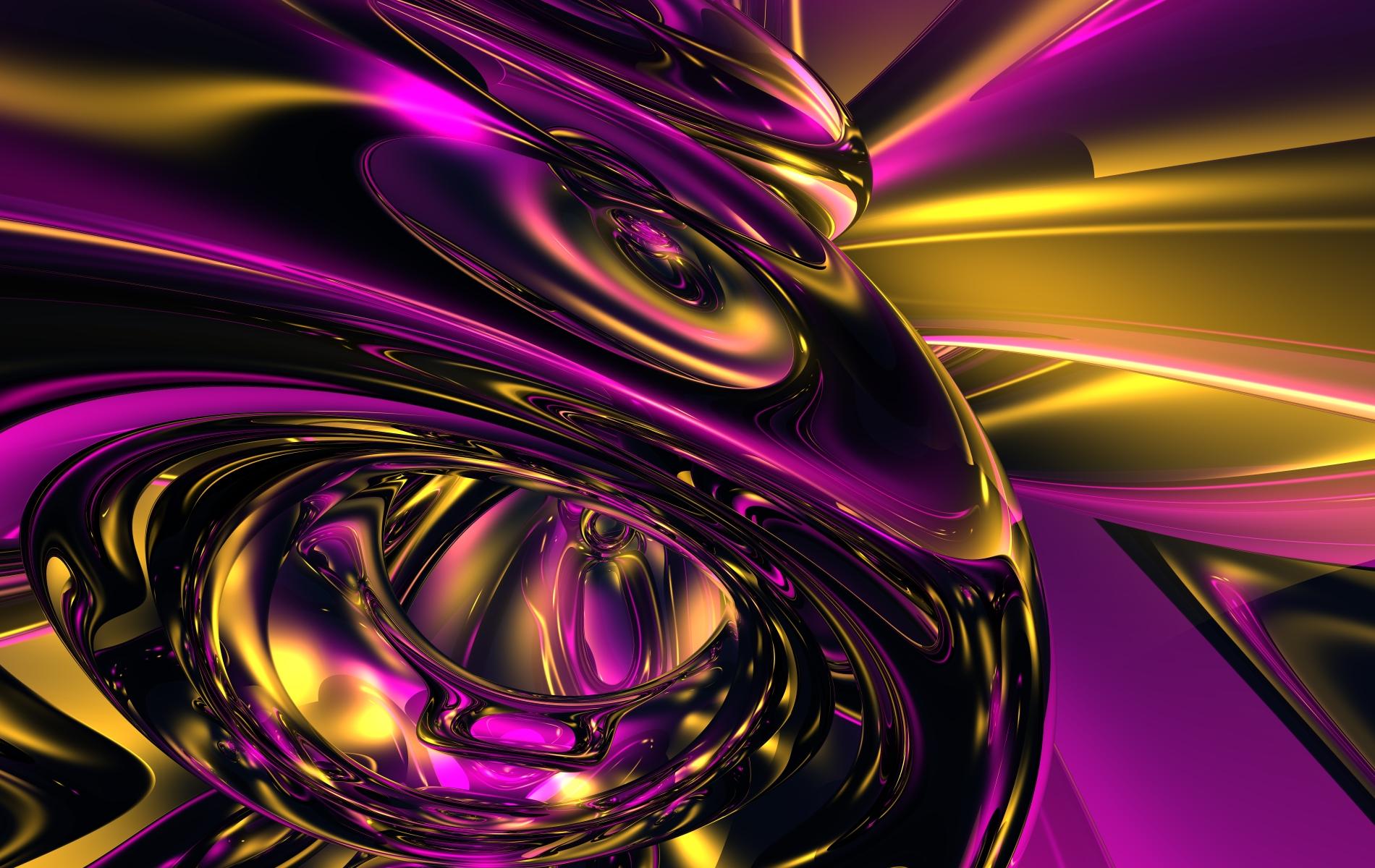Gold Abstract Wallpaper - WallpaperSafari