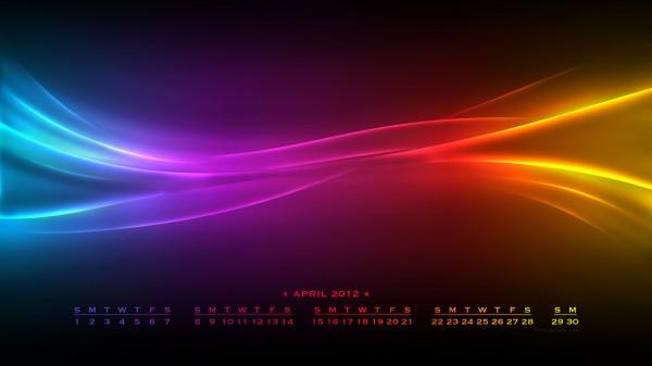Desktop Calendar Wallpaper April 2012 Download 2016   Webgranth 600x337
