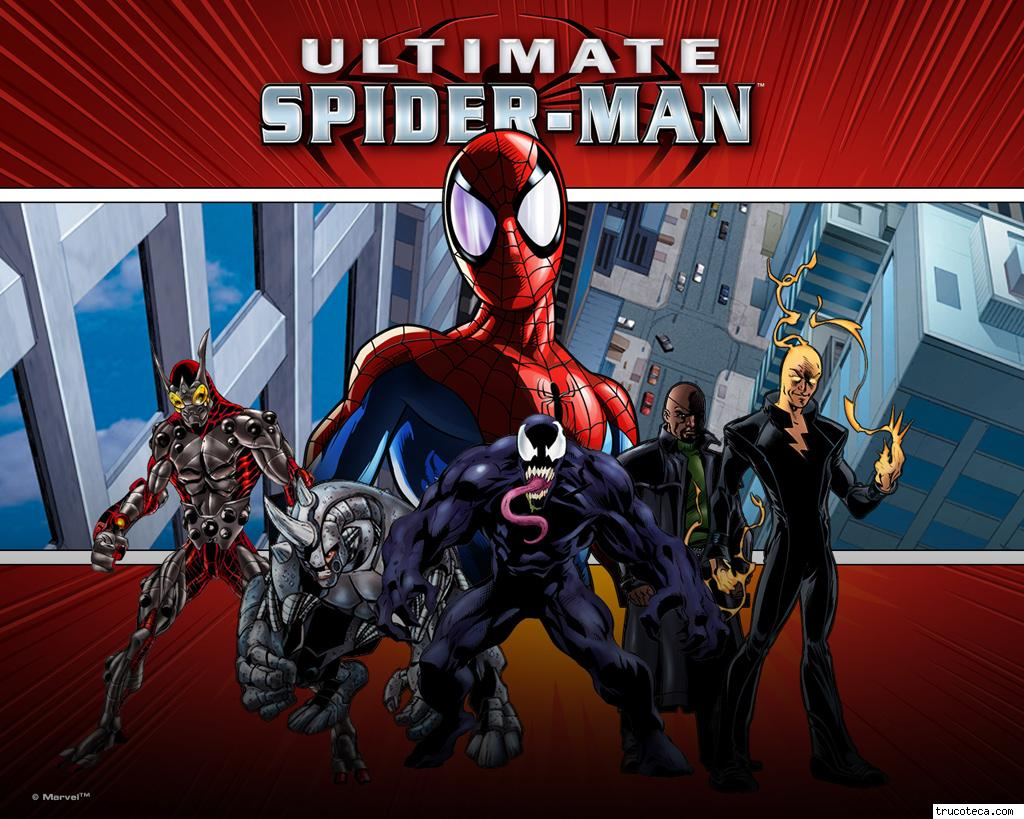 juegos Ultimate Spiderman fondos de Ultimate Spiderman wallpapers 1024x819