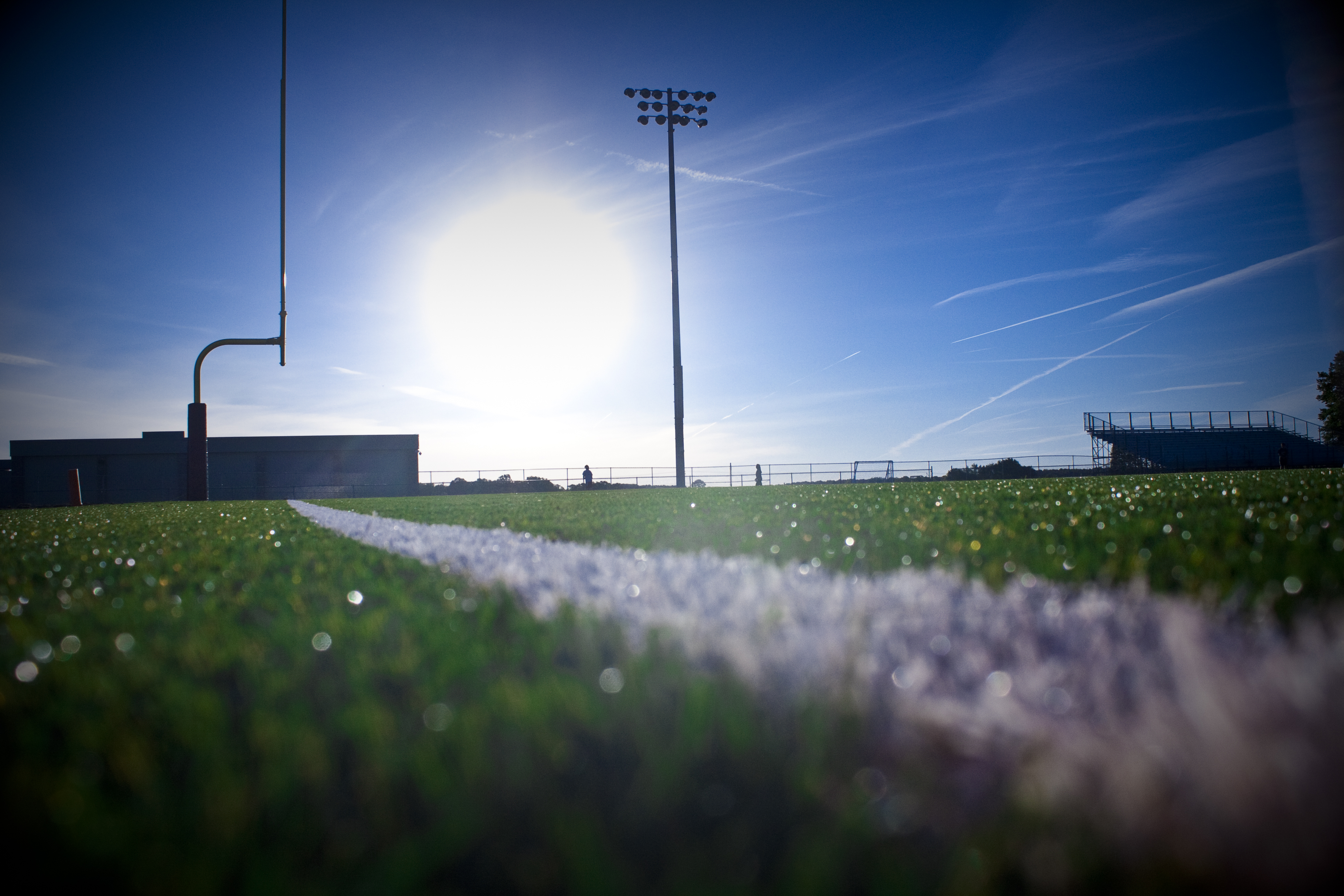 High School Football Field   wallpaper 3888x2592