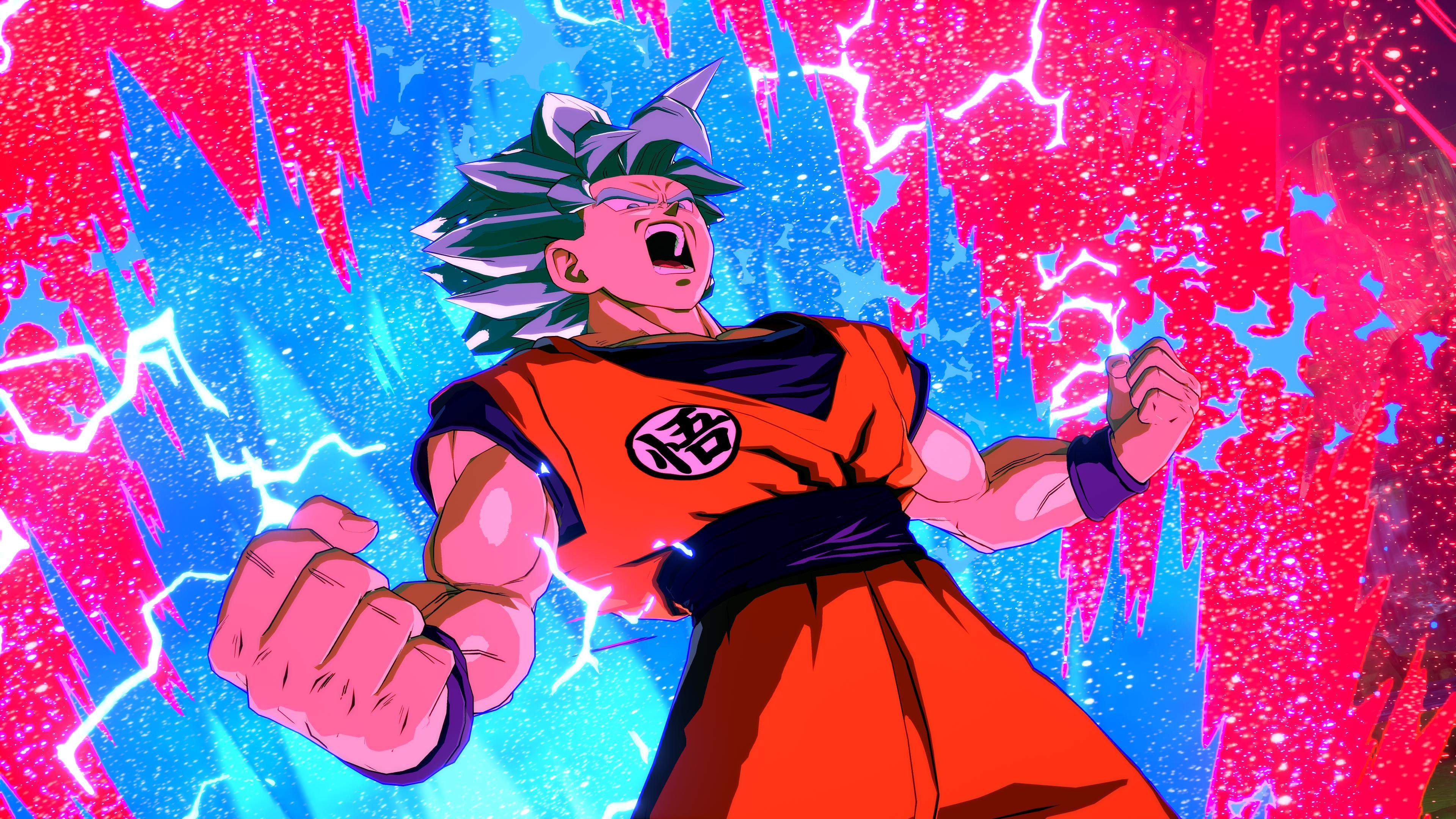 Goku Kaioken Wallpapers   Top Goku Kaioken Backgrounds 3840x2160