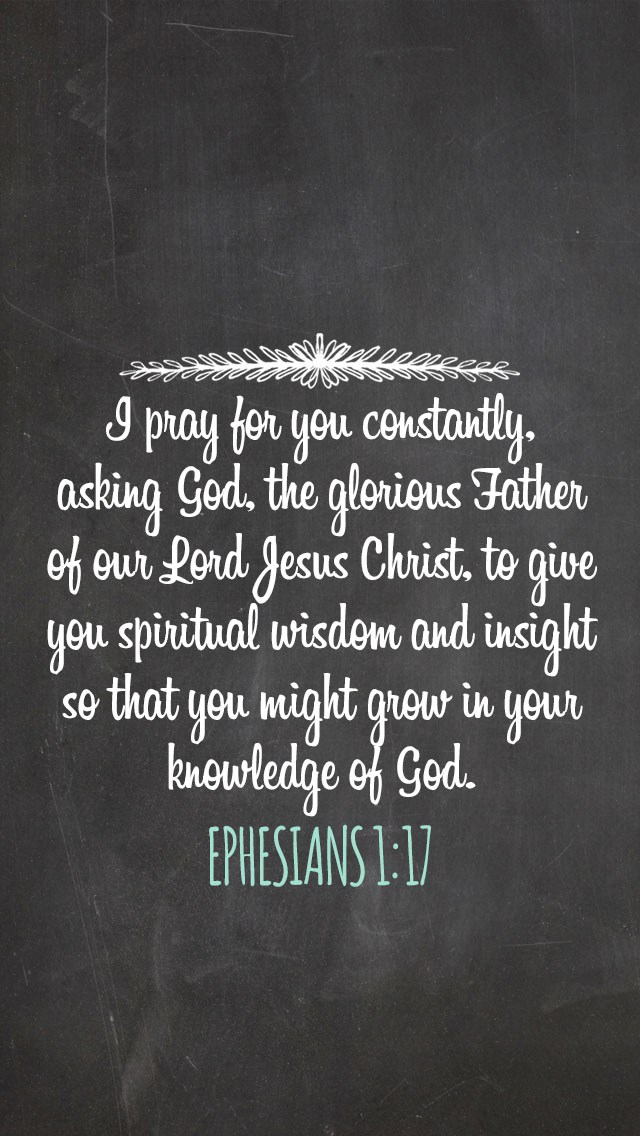 Bible Verse Wallpapers for Your Phone   Wit Wander 640x1136