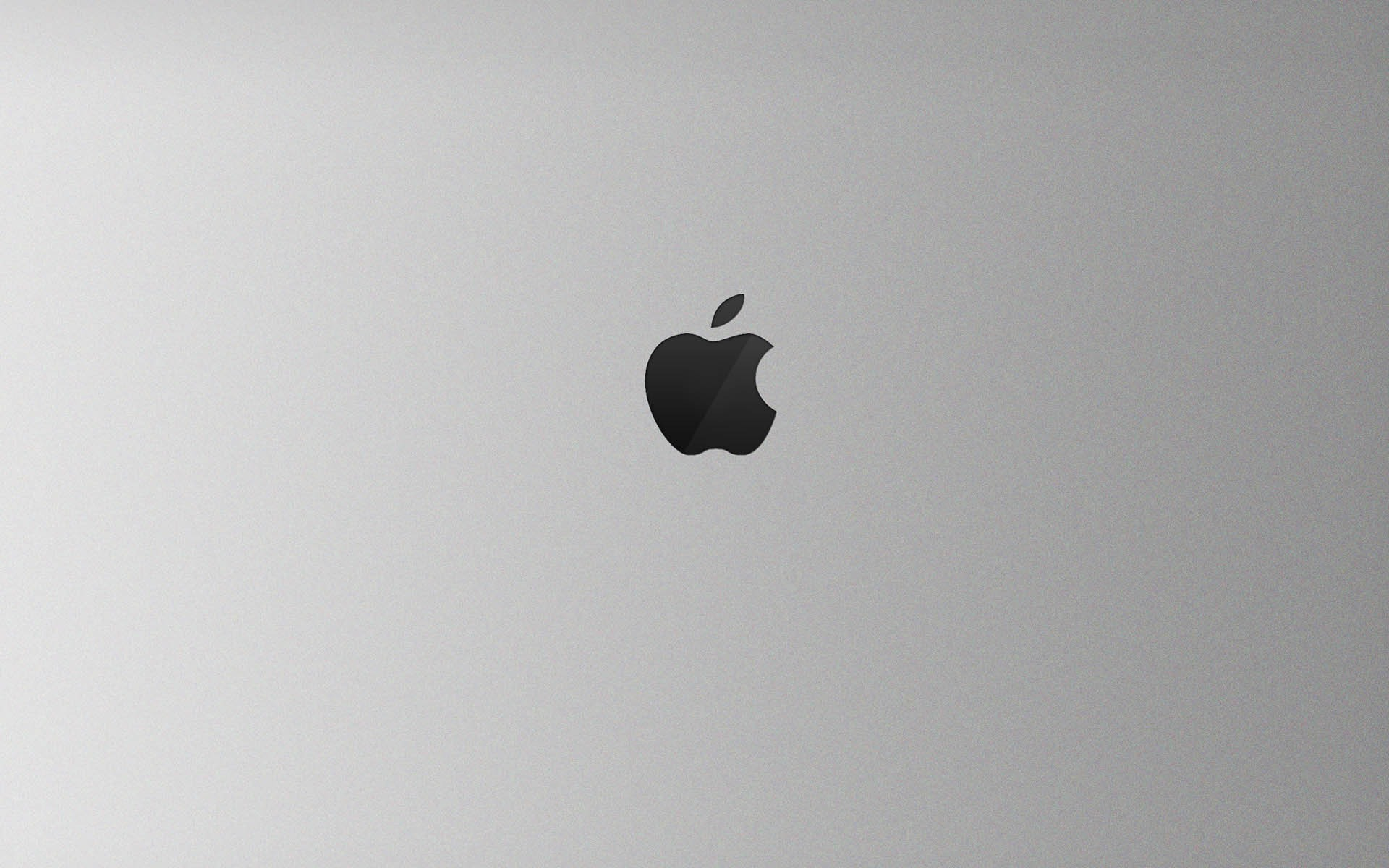 Apple Black and White HD Wallpaper For Mac 1920x1200