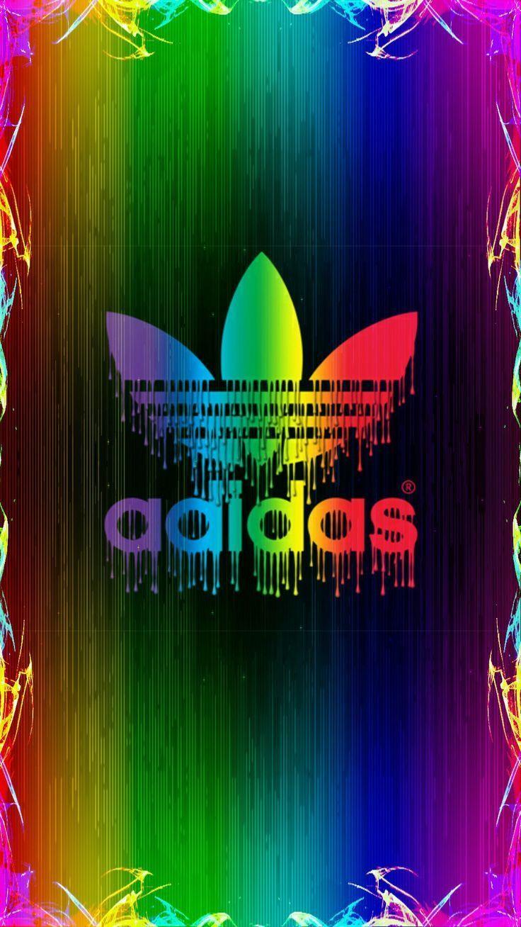 Neon Adidas Wallpapers   Top Neon Adidas Backgrounds 736x1308