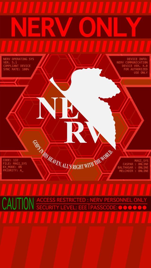 Phone wallpaper of NERV   Imgur 640x1136