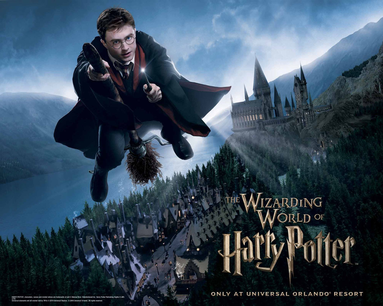 Wizarding World Wallpaper   Harry Potter Wallpaper 10393334 1280x1024