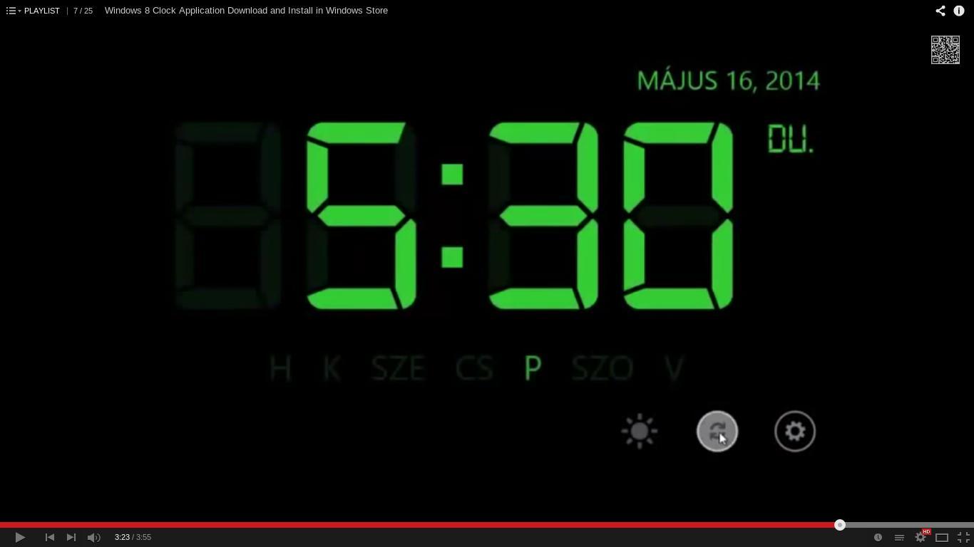 Очень полезная и красивая штука, позволяет видеть часы и дату, день недели на экране пк в качестве заставки.