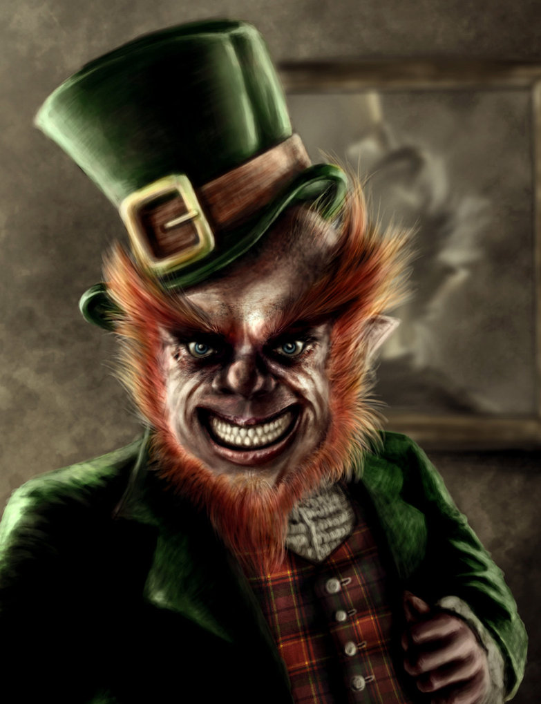 evil leprechaun wallpaper wallpapersafari