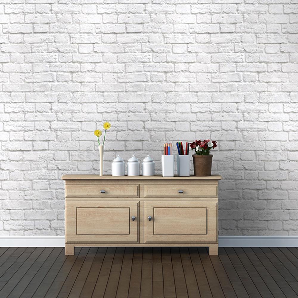 White Brick Wall Wallpaper from Watts London Made By Watts 9500 1000x1000