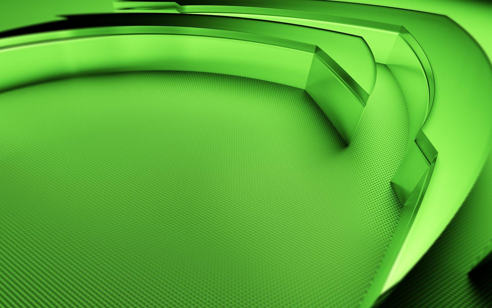 Nickname   nVidea 3D Green Logo Wallpaper Resolotion   1600x1000 1600x1000