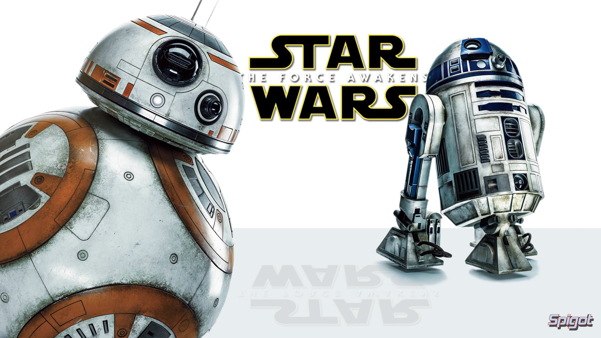 Cheeky BB 8 and R2 D2 HD Wallpaper Background Image 1920x1080 1920x1080