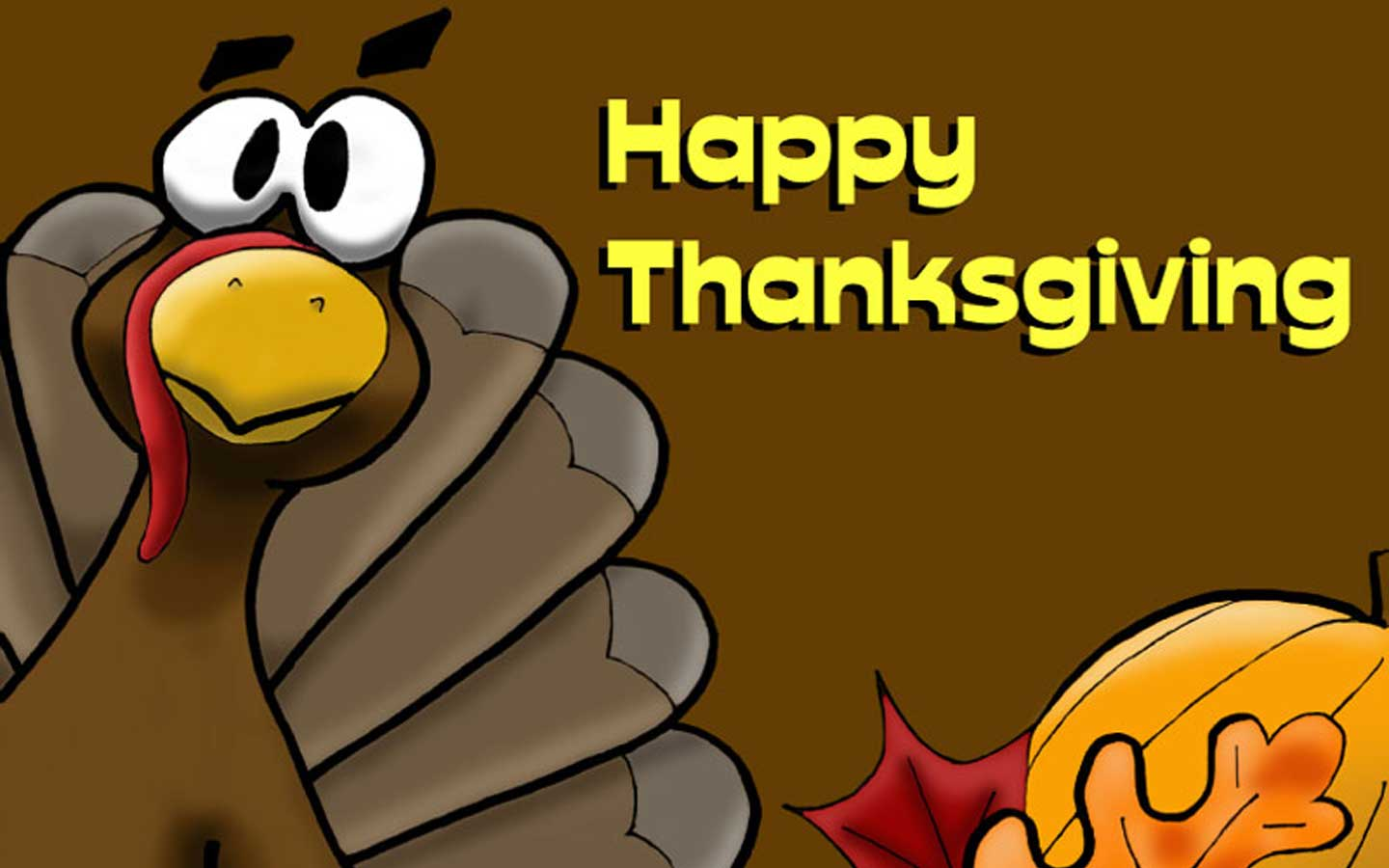 Thanksgiving Day 2012   Funny HD Thanksgiving Wallpapers 1440x900