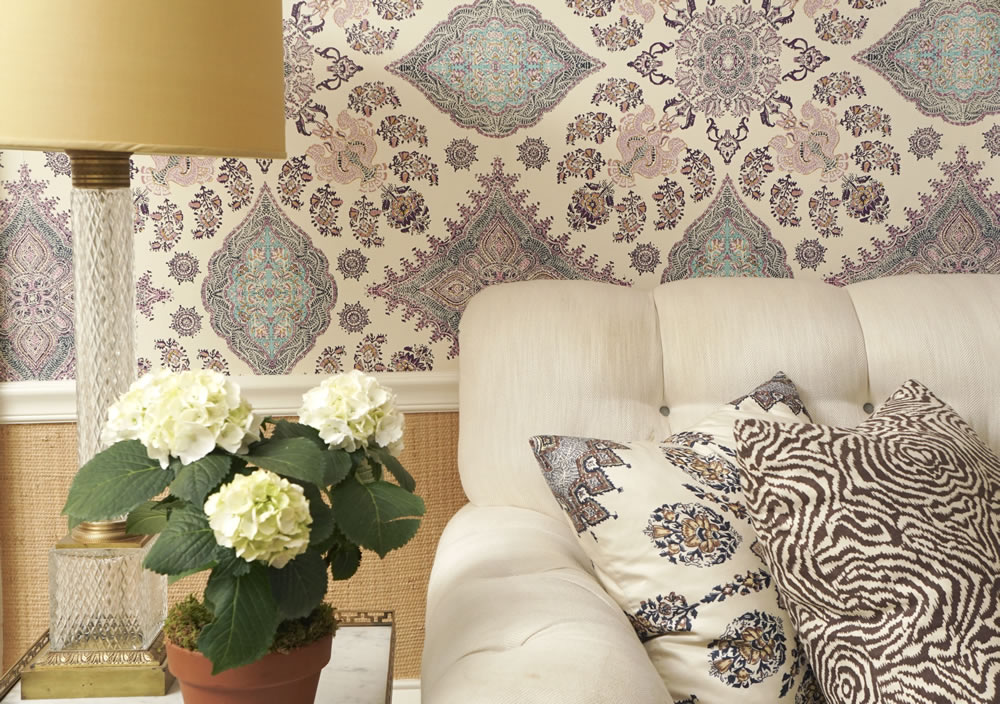 Home Couture Isfahan wallpaper with Persepolis and Meloire Reverse 1000x704