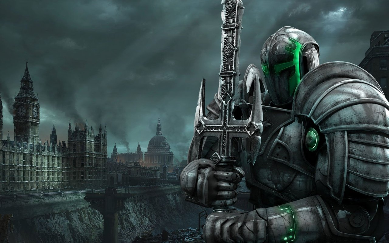 Hellgate London   Templar Knight wallpapers 1280x800