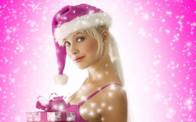 Pink Christmas Wallpaper Walltor 640x400