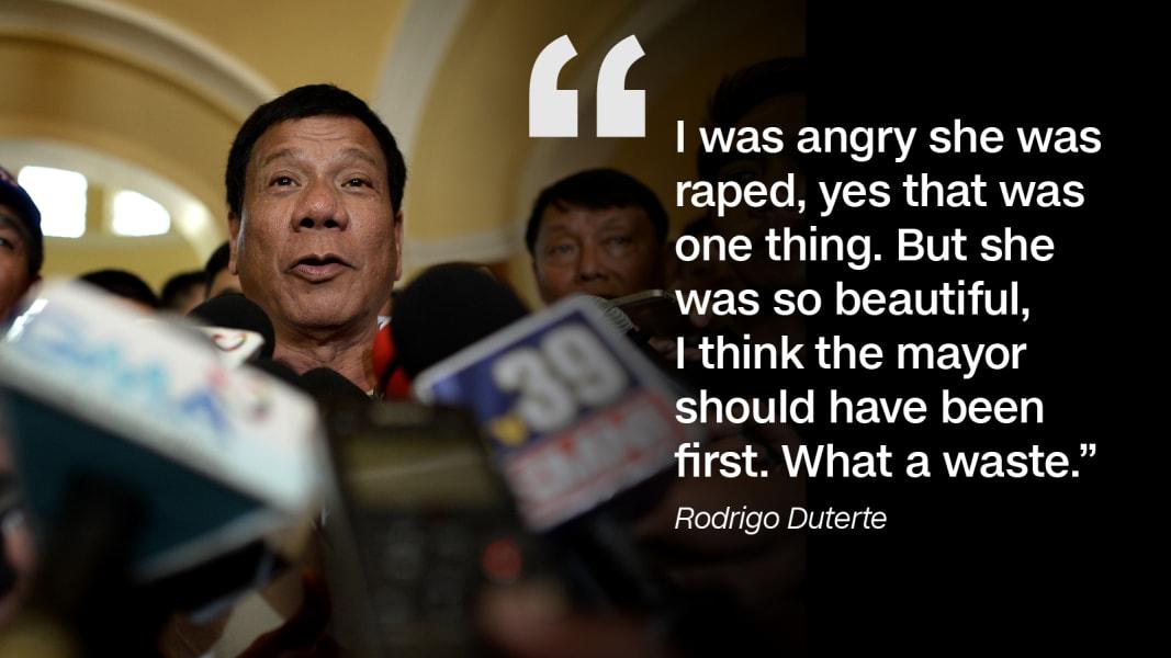Rodrigo Dutertes most controversial comments 1067x600