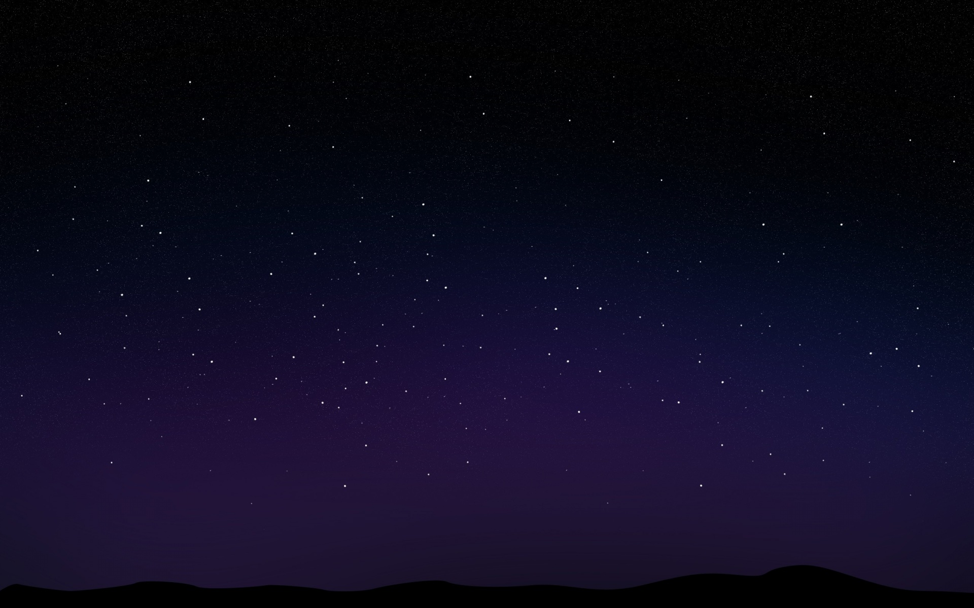 Dark Starry Night Sky Wallpaper Images amp Pictures   Becuo 1920x1200