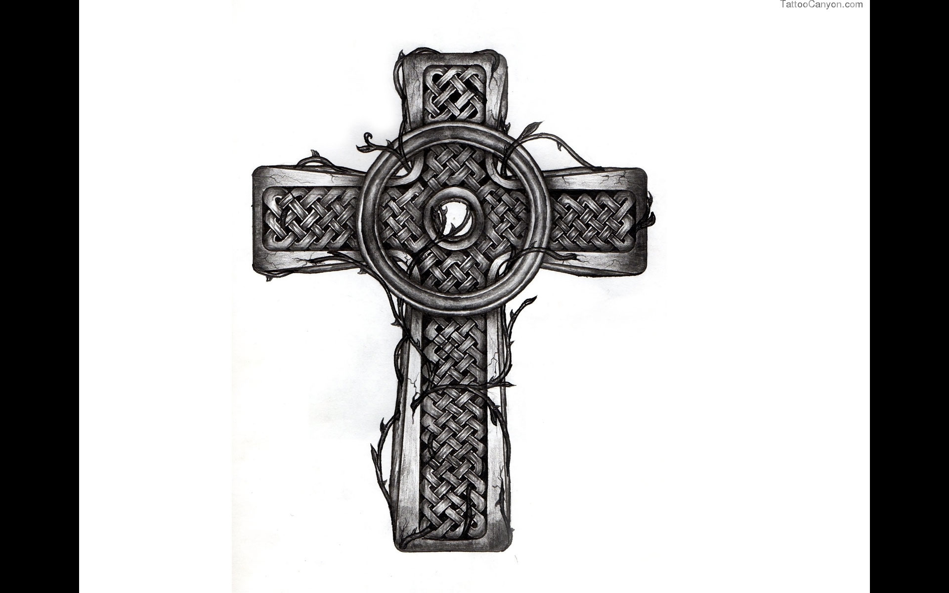 Designs Bold Celtic Cross Tattoo Wallpaper Picture 5532 1920x1200