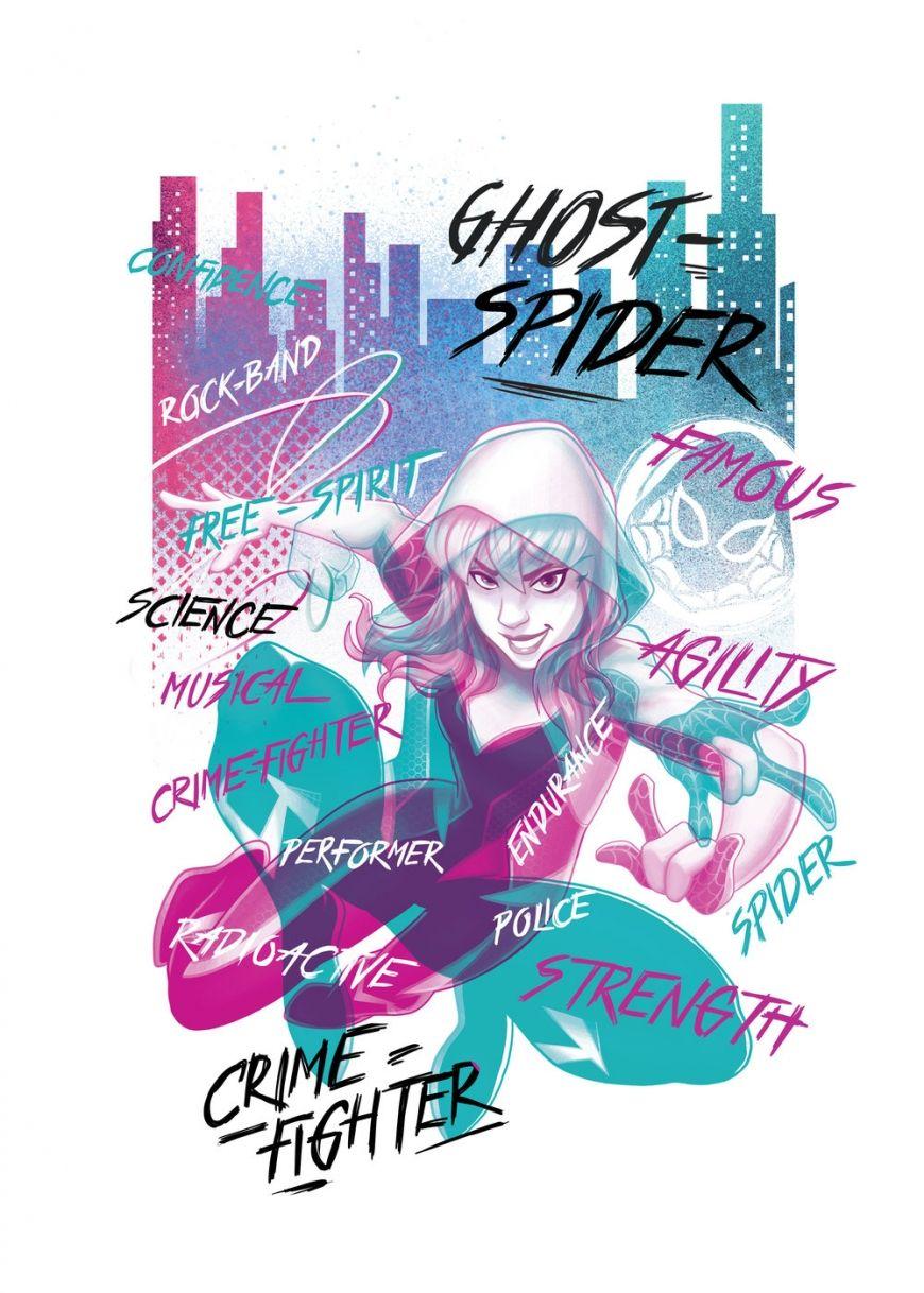 Marvel Rising Secret Warriors Ghost Spider official art Marvel 870x1218