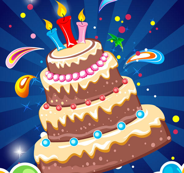 Birthday Card Background Download Vector Graphics Vector Art 600x565