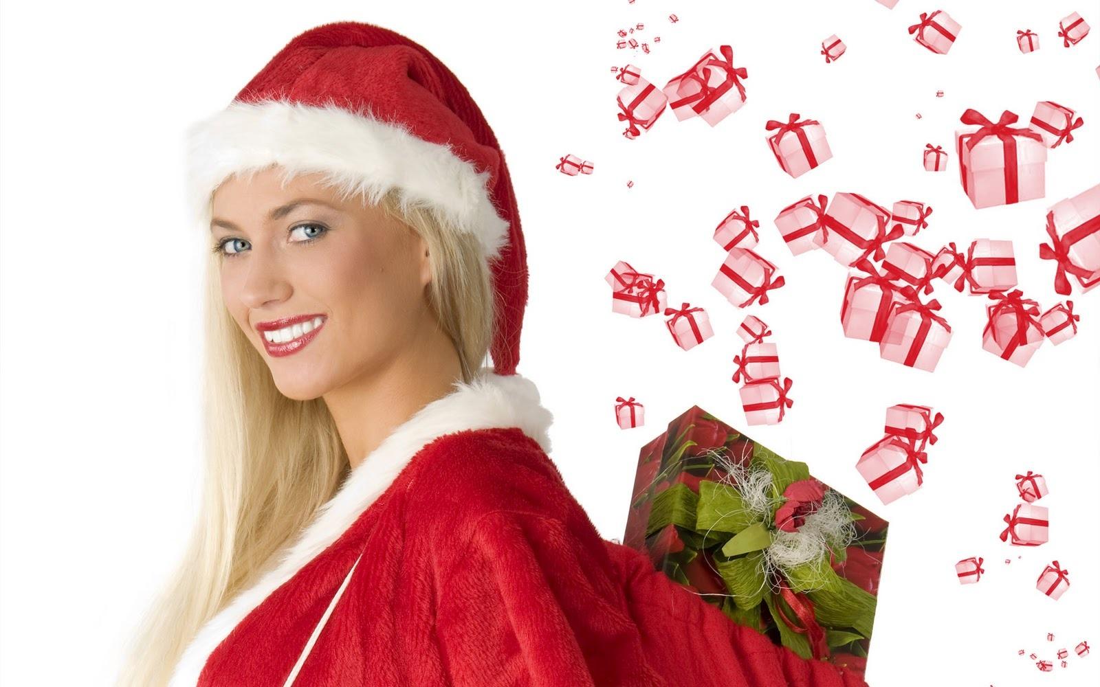 Fondos de Pantalla con Chicas SEXY para Navidad   Taringa 1600x1000