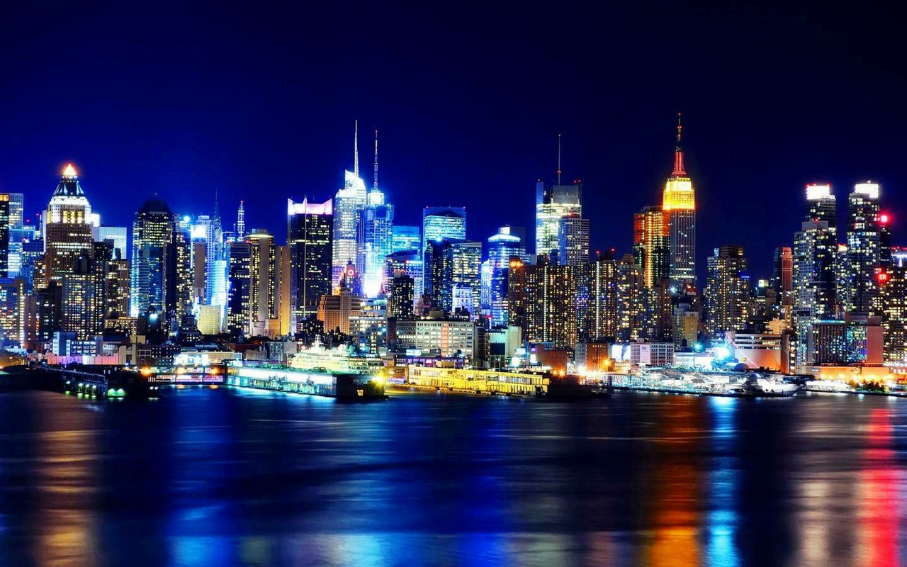 Night Time In The City Wallpaper Yvt 1280x800 pixel City HD 1280x800