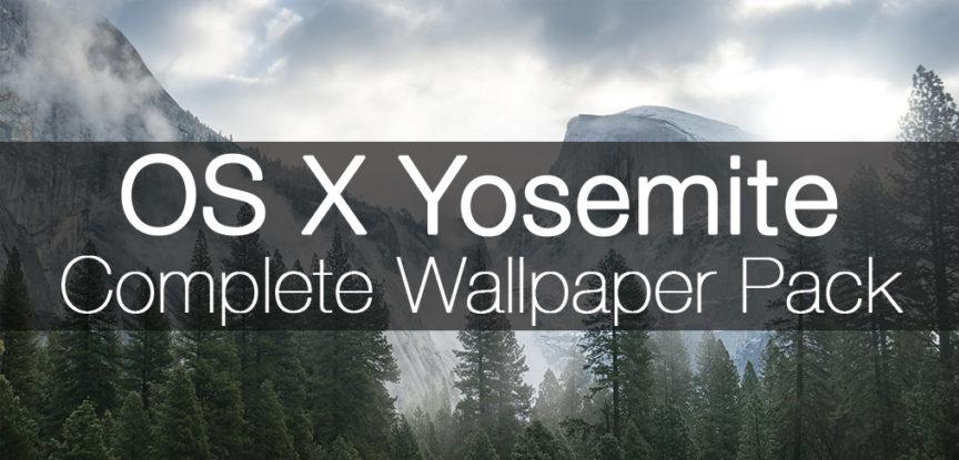 OS X Yosemite Complete HD Wallpaper Pack DMarakowskicom 864x415