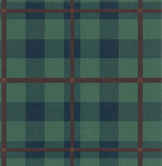 Blue Plaid Wallpaper Wallpapersafari