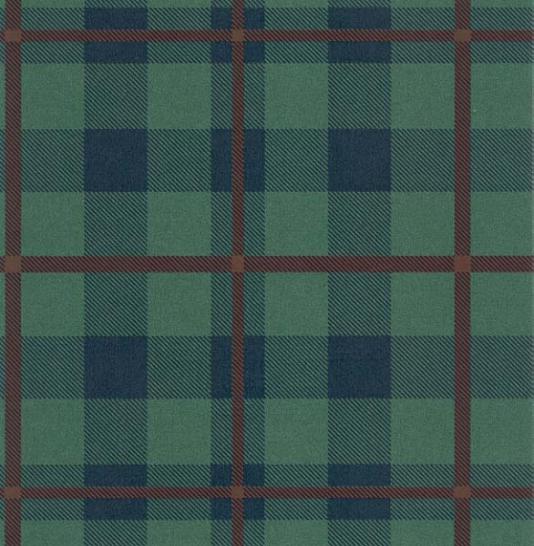 Checkered Wallpaper: Blue Plaid Wallpaper