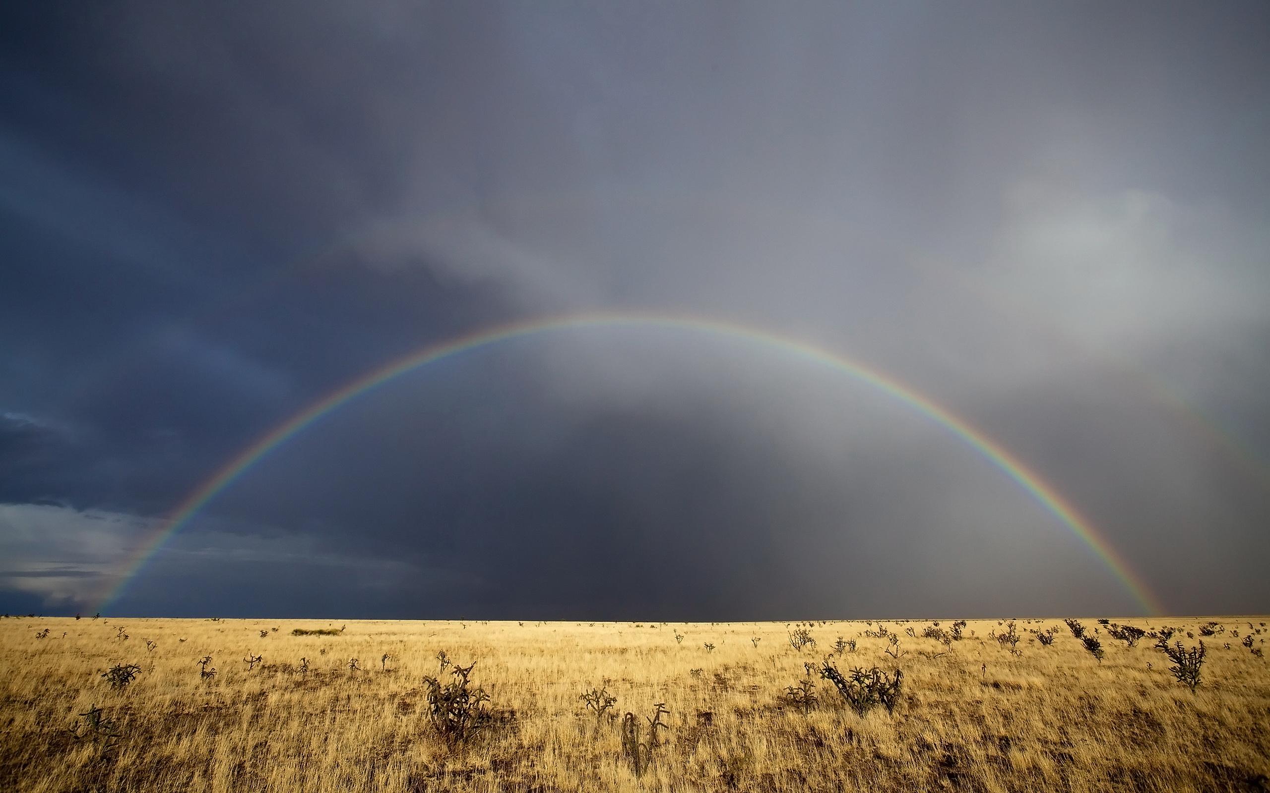 Rainbow in New Mexico Desktop Wallpapers FREE on Latorocom 2560x1600