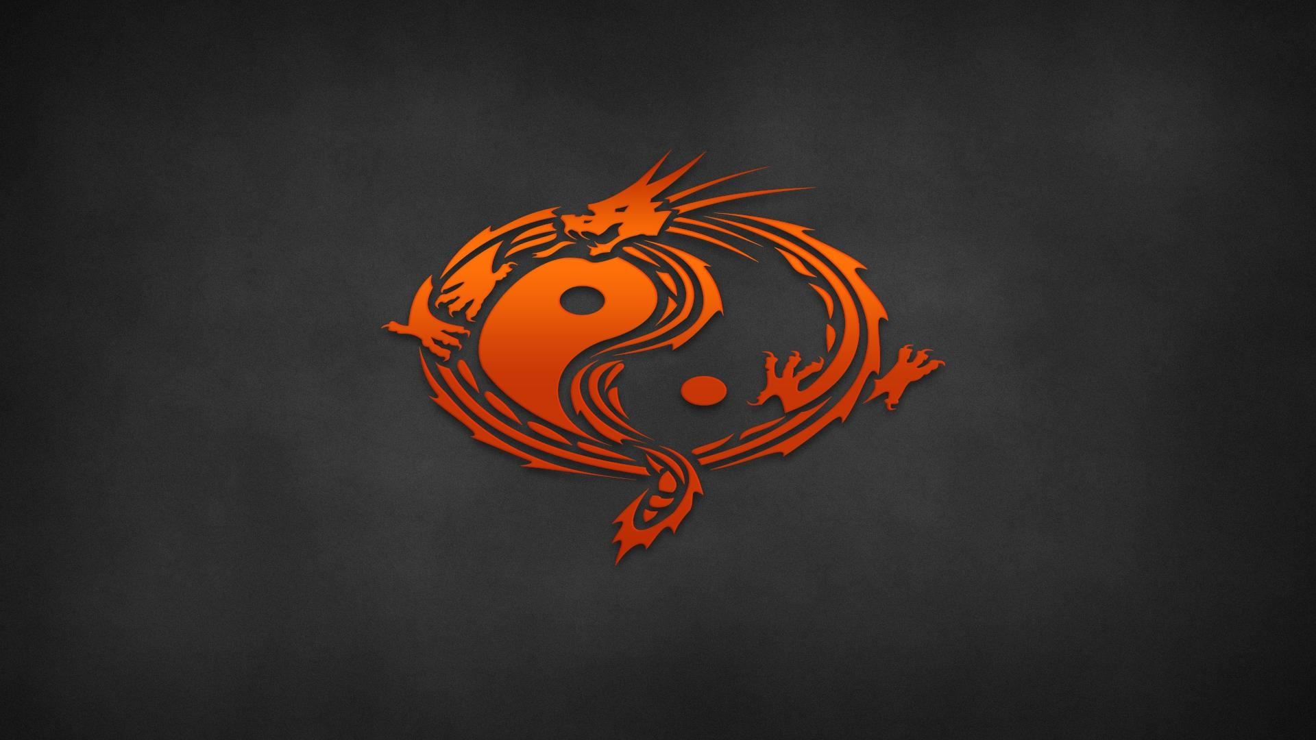 Dragon Yin Yang Wallpaper - WallpaperSafari