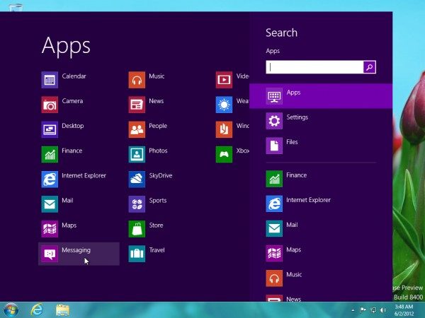 Windows 8 with Start Menu 600x450