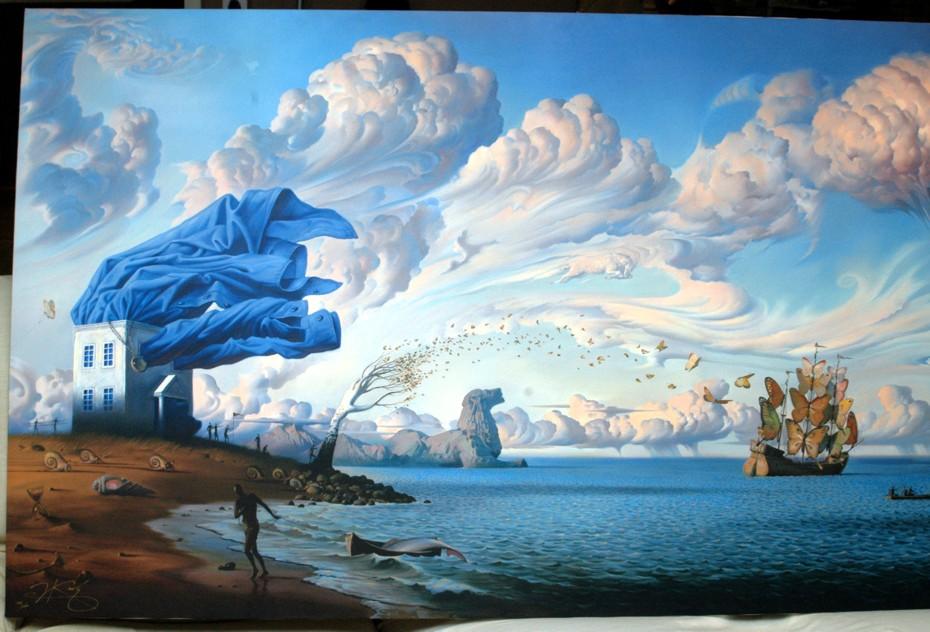 Art Vladimir Kush Vladimir Kush Surrealism and 930x632