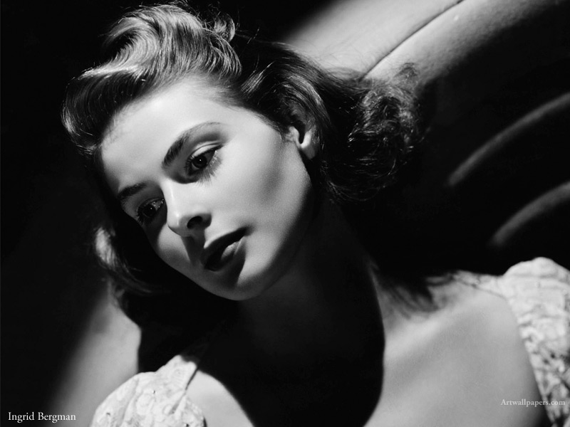 Ingrid Bergman Wallpapers Posters Photos Desktop Wallpaper 800x600