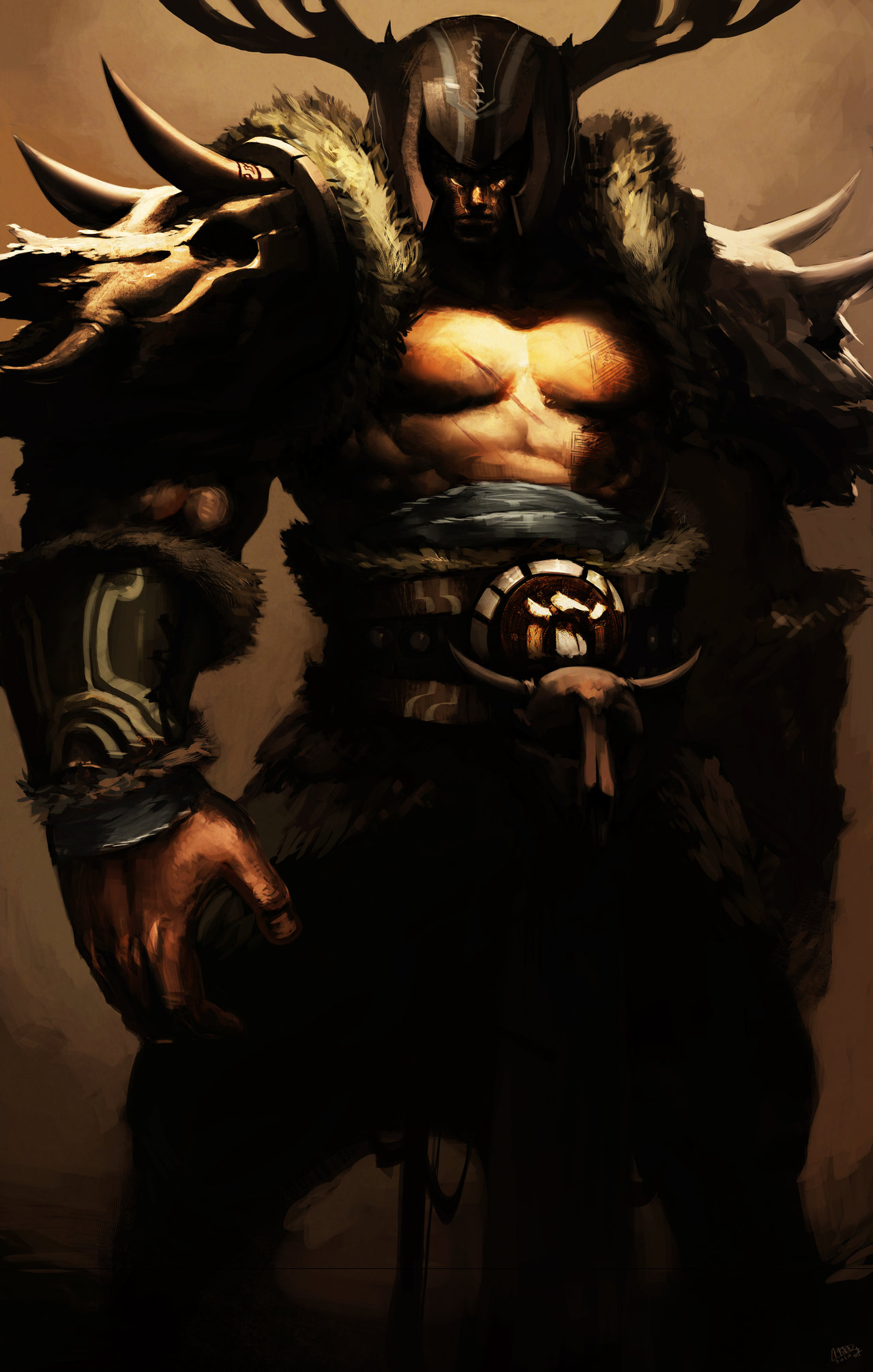 Barbarian King by Raaamen 1280x2011