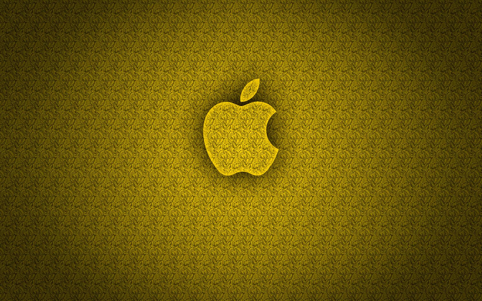 1680x1050px Gold Apple Wallpaper Wallpapersafari