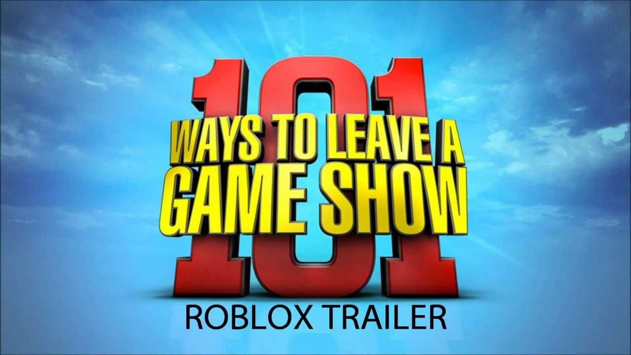 COMING SOON ON ROBLOX   101 WAYS TO LEAVE A GAMESHOW 1280x720