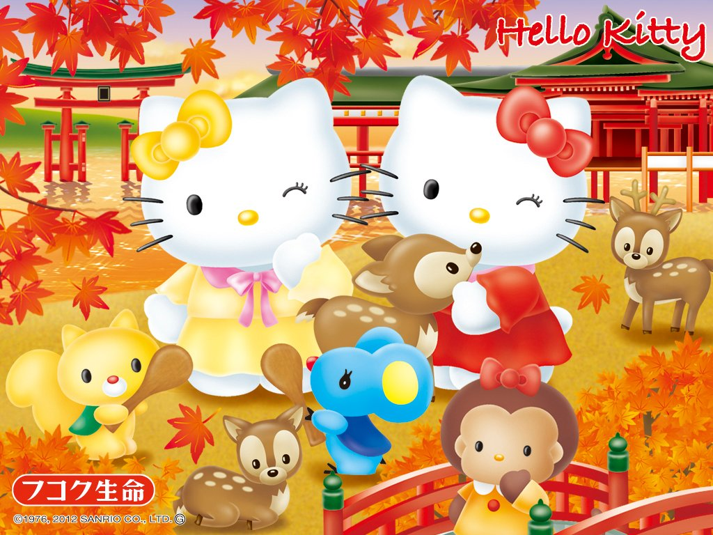 Free Download Hello Kitty In Japan Sanrio Wallpaper Hello Kitty