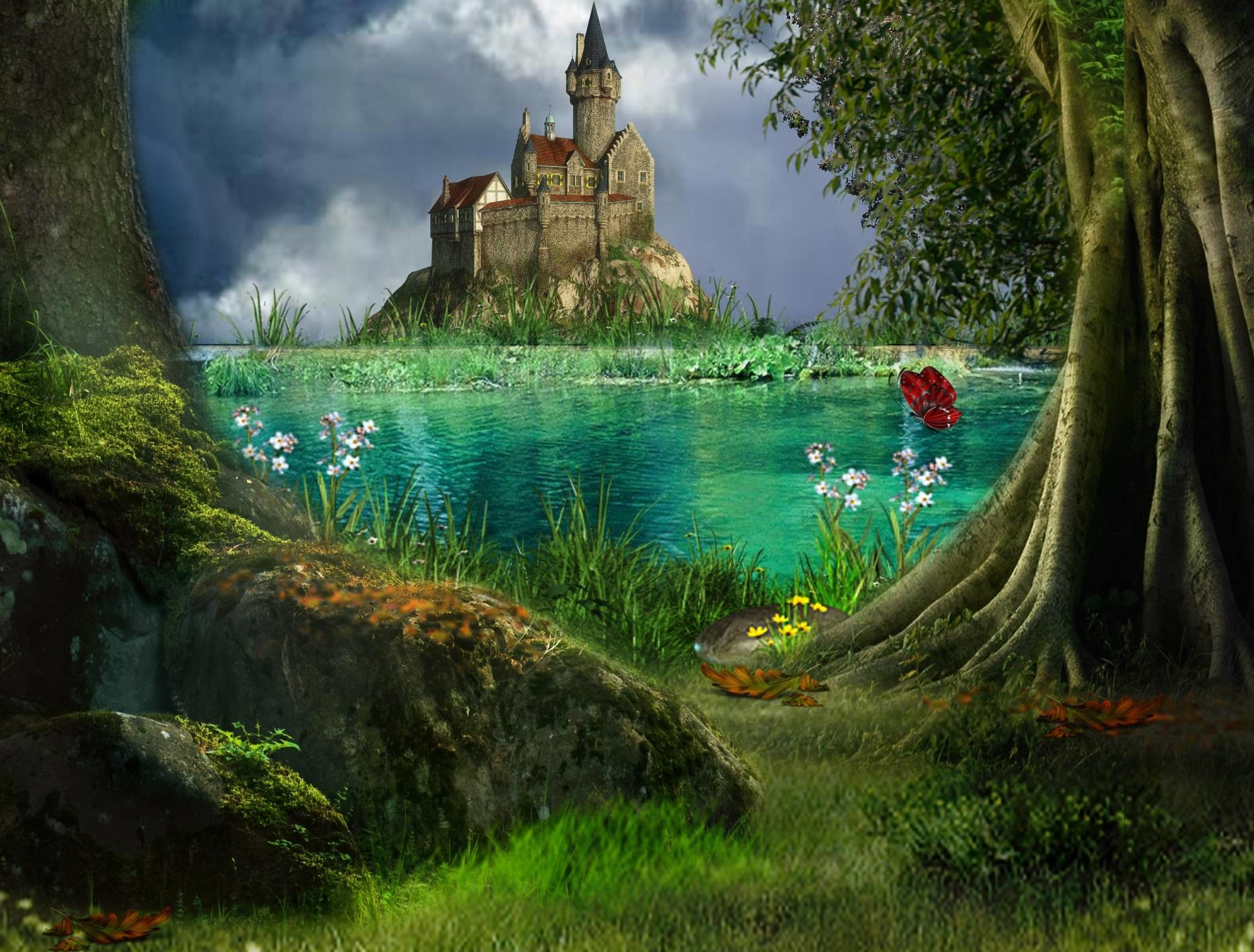 Fairy Tale Backgrounds 62 images 1987x1509