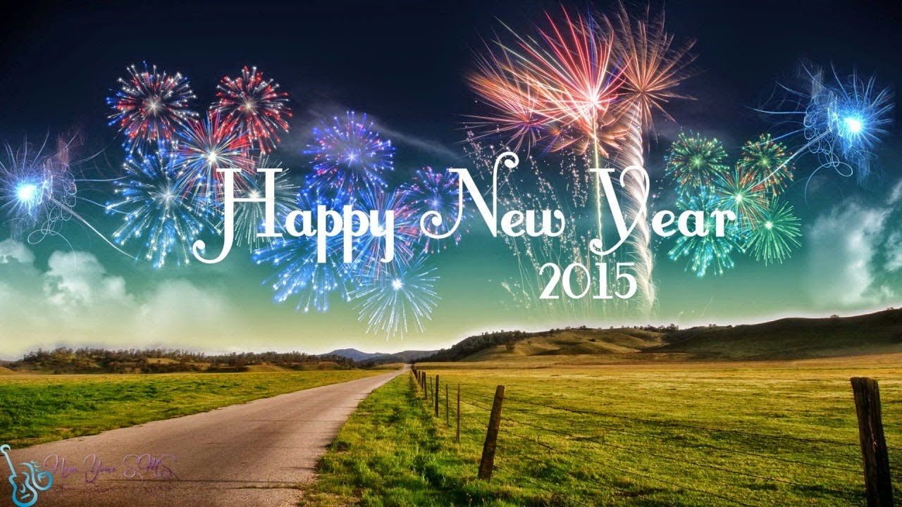 2015 Happy New Year Images Download HD Background Wallpapers 1280x720