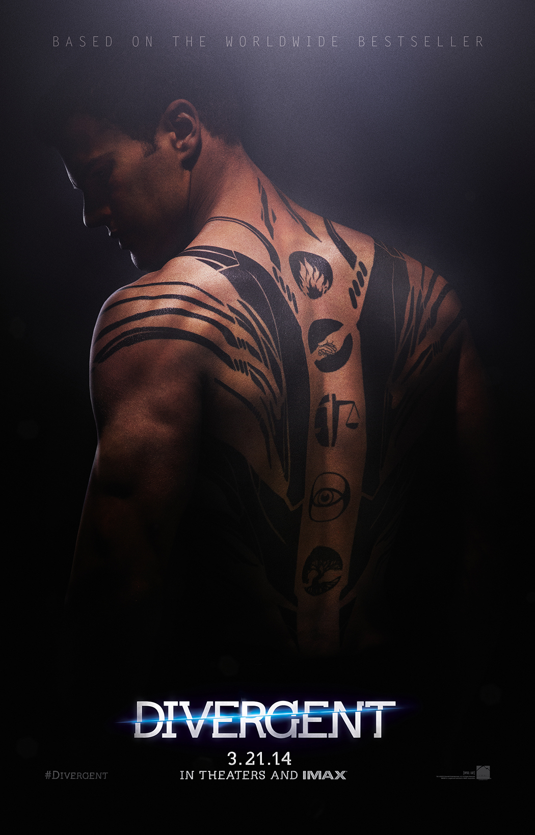 Two new posters from Divergent plus wallpapers Movie Wallpapers 1050x1639
