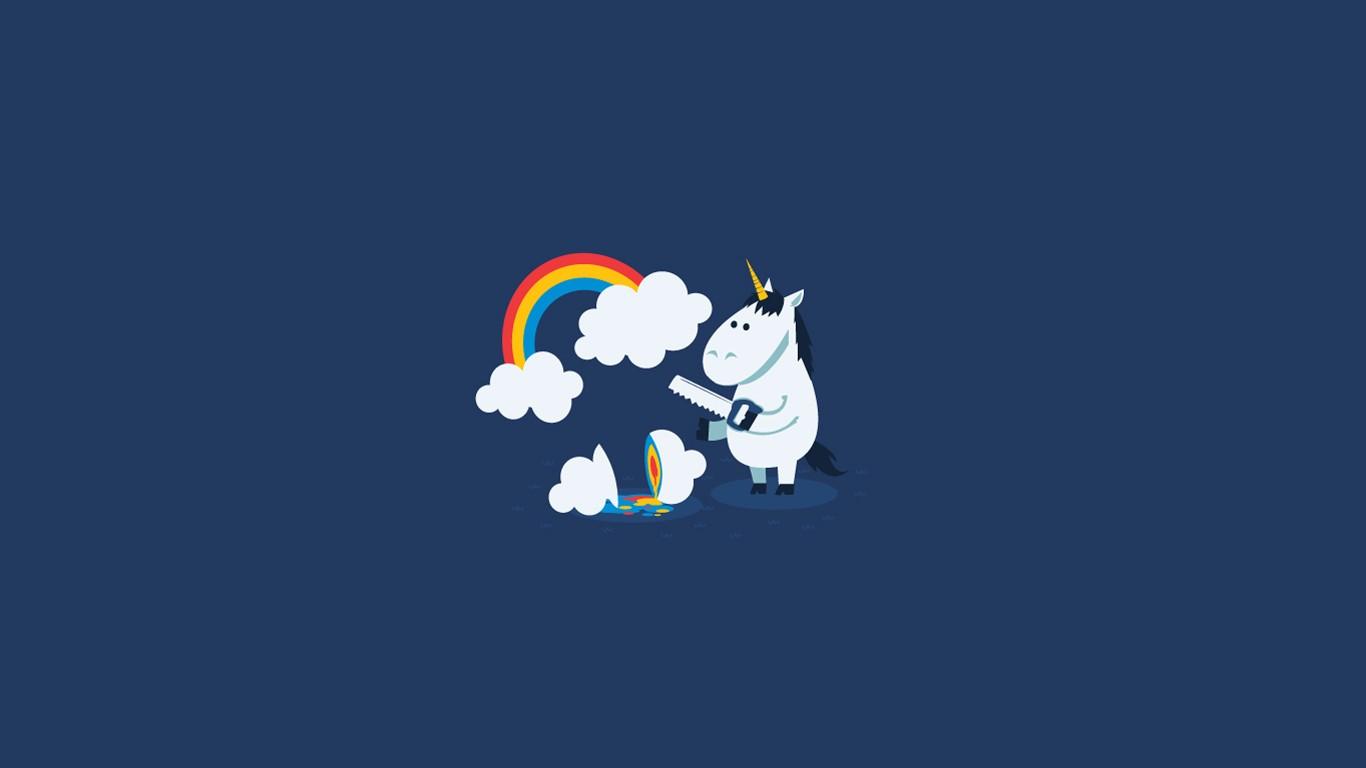 73 Unicorn Backgrounds For Desktop On Wallpapersafari
