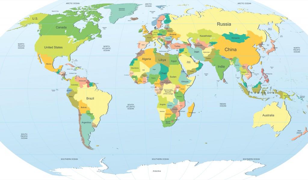 World Map Screensaver Wallpaper WallpaperSafari - Cute world map wallpaper