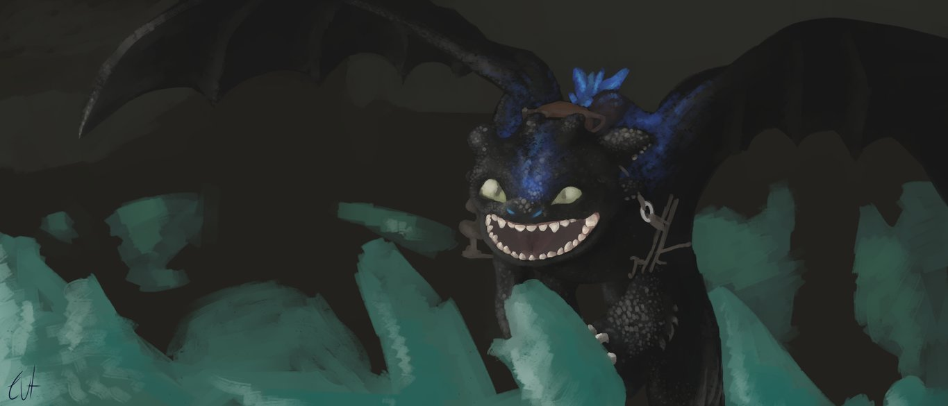 Alpha toothless by Acording 1365x585