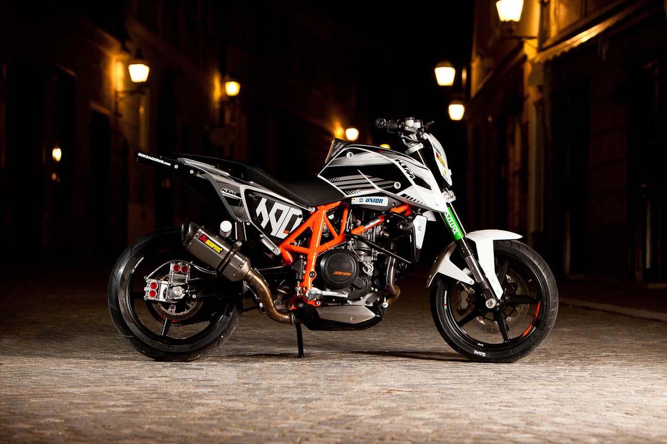 Rok Bagoros New KTM 690 Duke Stunt Bike 1300x867
