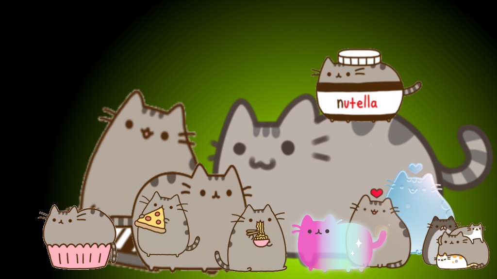 Pusheen The Cat IPhone Wallpaper